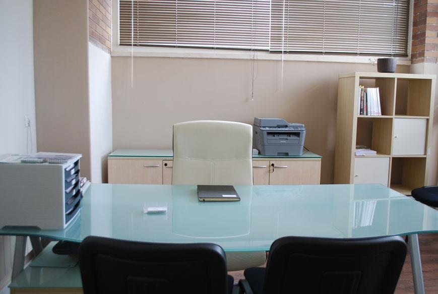Alquiler de despacho para sesiones de psicología y logopedia