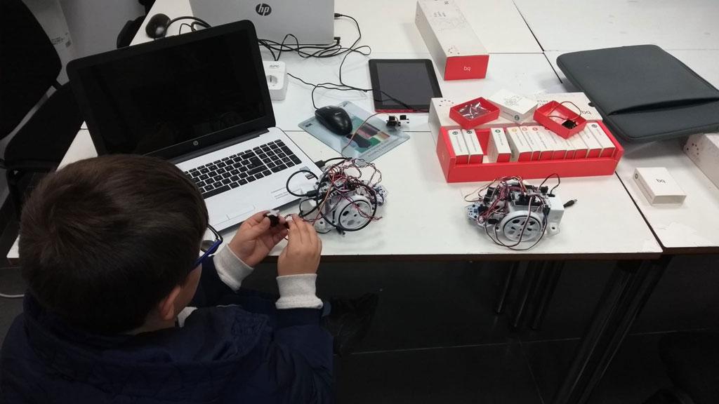 Clases de robotica educativa en Guadalajara Formanovus